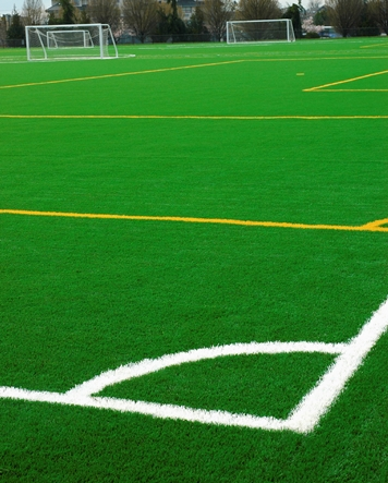 artificial grass professional soccer field