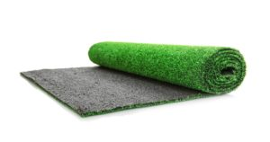 artificial turf mat installation