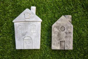 home design using artificial grass